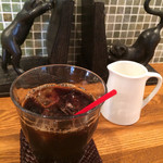 カフェ ヴォーグ ルビー - ランチ、アイスコーヒー
