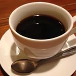 旨い屋清童 - 2014.3.7 ランチの食後のコーヒーは150円
