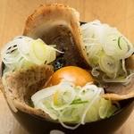 威 - 炙りネギチャーシュー丼