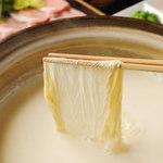 豆家茶寮 - お昼の豆乳しゃぶしゃぶコース