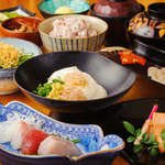 豆家茶寮 - 季節の会席コース