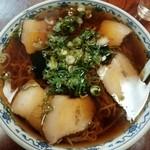 ふじみ食堂 - 料理写真:チャーシューメン(大盛)650円+50円