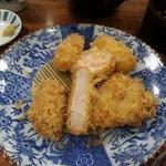 Katsukichi - お昼の盛り合わせ定食