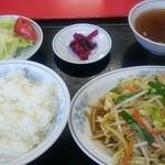 26037448 - 野菜炒め定食