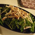 2604509 - 水菜と鶏ササミのサラダ~梅肉ドレシッング