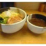 麺屋 じげん - つけ麺 (大盛) - 750円