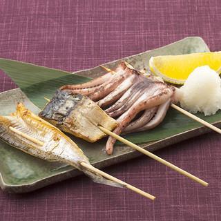 串焼きやサラダ、タタキなど多彩なメニューで大活躍★