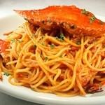 ラ・ベルデ - 渡り蟹のトマトソース