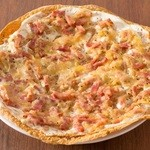 ラ ココリコ - フランスのおつまみピッツァ!アルザス風