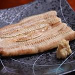 日本料理 日の出 - うなぎの白焼