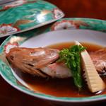 日本料理 日の出 - チョーカの煮つけ