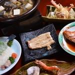 日本料理 日の出 - 浜名湖大満喫おまかせコースの例