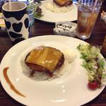カフェダイナー コナ - 見た目も可愛らしいし、美味しかったです(*^^*)