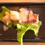 恵比寿楽園テーブル - ランチ前菜@2014.2