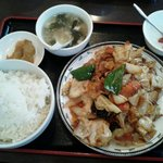 rakuen - 回鍋肉セット