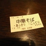 三麺流 武者麺 - (2014/4)