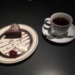 コーヒー フラジャイル - ケーキセット ¥800