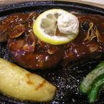 末廣軒 - ステーキコース ビフテキ+ガーリック