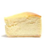 コンフィセリー・ラパート - ピーターのチーズケーキの断面 '14 3月中旬