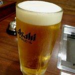 焼肉たきもと - 生ビール