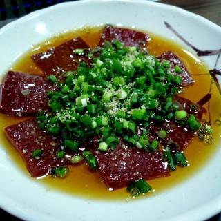 焼肉たきもと - 料理写真:生ギモ