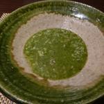朱藏 - 菊菜のリゾット