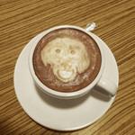 アネア カフェ - ラテ・アート:ジョニー
