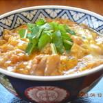 万作 - 料理写真:紀州梅どりの親子丼