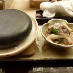 懐石料理 桝田 - 貝の石焼