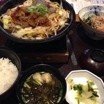Kagonoya - 日替り定食 じゅうじゅう鉄板定食