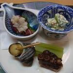 新宿割烹 中嶋 - お昼のおまかせコース(5400円)の先付け