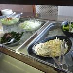 練馬展望レストラン - サラダバーの1部