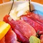 丼季 - 大間まぐろほほ肉