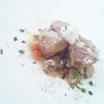 リストランテ ウミリア - 有田鶏のインボルティーニ ズッパディファッロのサルサ