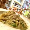 オーガニック野菜ときのこのソイクリームスパゲッティ