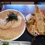 瀬戸内製麺710 - 天盛りざる(H26.4.9)