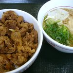 なか卯 - 料理写真:牛丼(並)+小うどんはいから