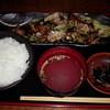 もつ壱 - 料理写真:ハラミと野菜のタレ炒め600円