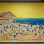 26090193 - 鰊漁の当時の風景なんでしょうか? 模写の絵がありました。