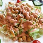 バハル - ひよこ豆のサラダ