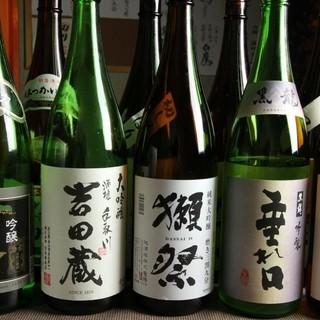 日本酒・焼酎を豊富にご用意♪