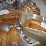 26091785 - クランベリー&クリームチーズ、クリームチーズ&クルミ、チョコ&クルミ