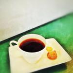 カフェ ステーション - coffeeには可愛い手作りクッキー付き! この心遣いがたまりません!