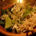焼にく 和牛食堂 - ディナータイムのサラダバーのサラダ
