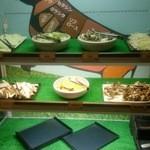 焼にく 和牛食堂 - サラダバー(焼き野菜、きのこ類)