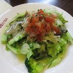 洋食 三浦亭 - 取り合わせのサラダ