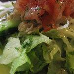 洋食 三浦亭 - サラダのアップ