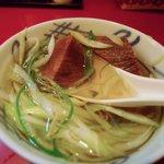 牛たんの一仙 - テールスープ