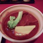 牛たんの一仙 - タンシチュー(定食のおまけ)