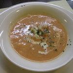 洋食 三浦亭 - トマトクリームスープ